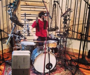 Virtue And Vice Live Room Drums RCA Mic