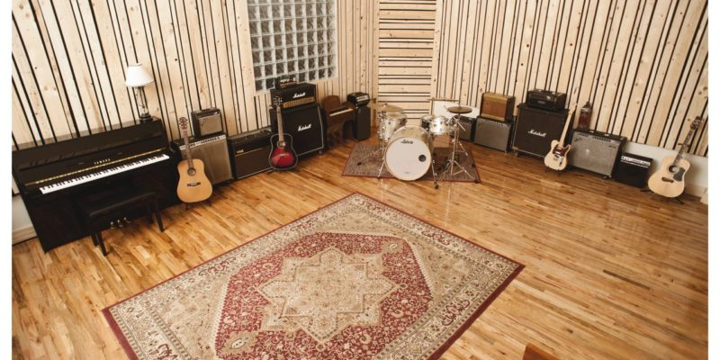 Virtue And Vice Live Room Drums Fender Vox Marshall DW Brooklyn NY