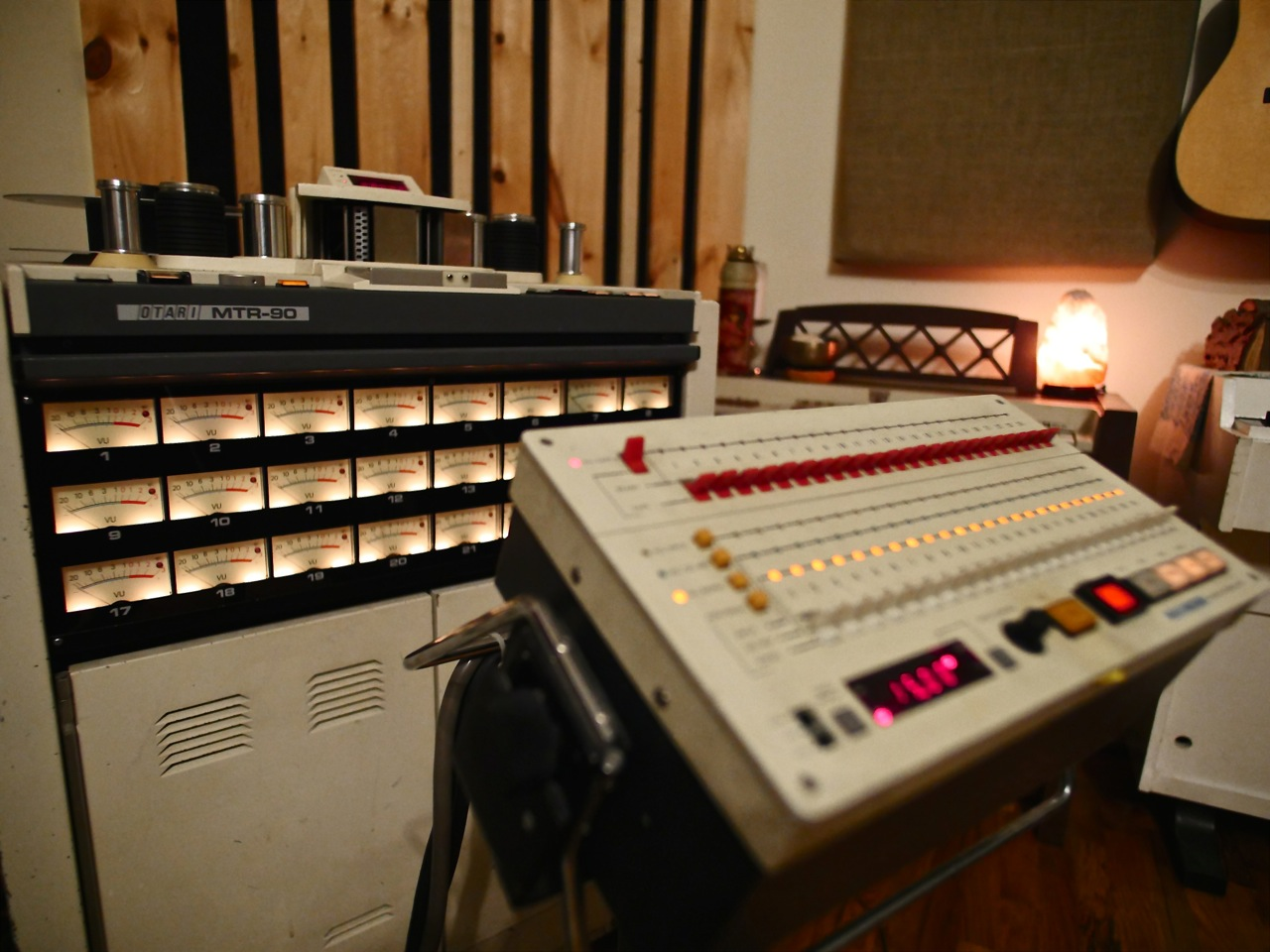 Virtue And Vice Otari Tape Machine