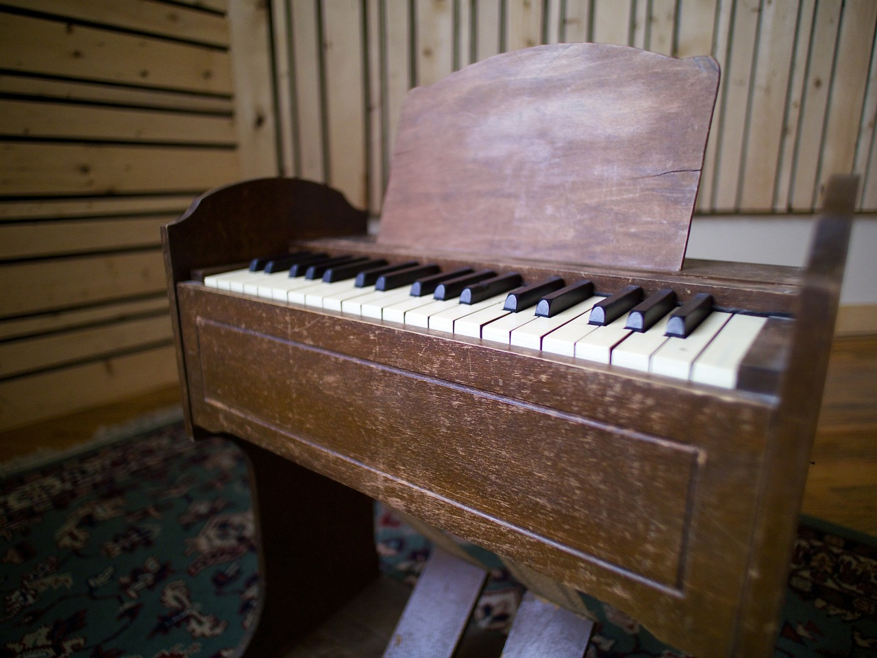 Virtue And Vice Esty Pump Organ